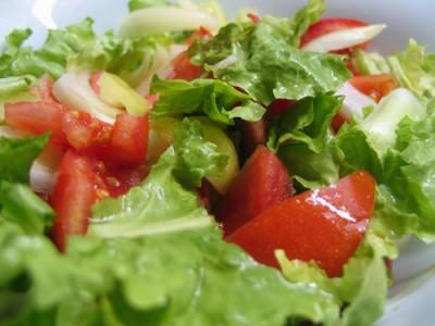 salada-alface-tomate
